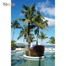 Yeele Seascape Natural Photocall Seaside Balcony Photography Backdrops Personalized Photographic Backgrounds For Photo Studio