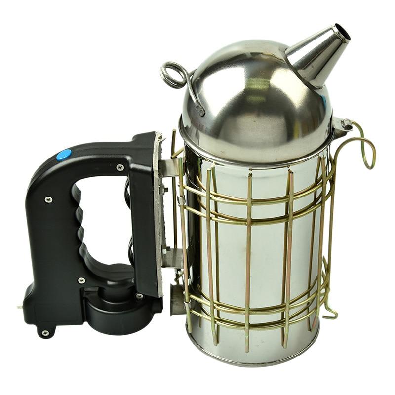 DLKKLB Stainless Steel Electric Bee Smoke Transmitter Kit Electric Beekeeping Tool Apiculture Tool Bee Smoker Beekeeping