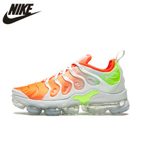 Оригинальный Новое поступление Nike Оригинальные кроссовки AIR VAPORMAX плюс мужские дышащие Беговая спортивная обувь уличные кроссовки 924453 005