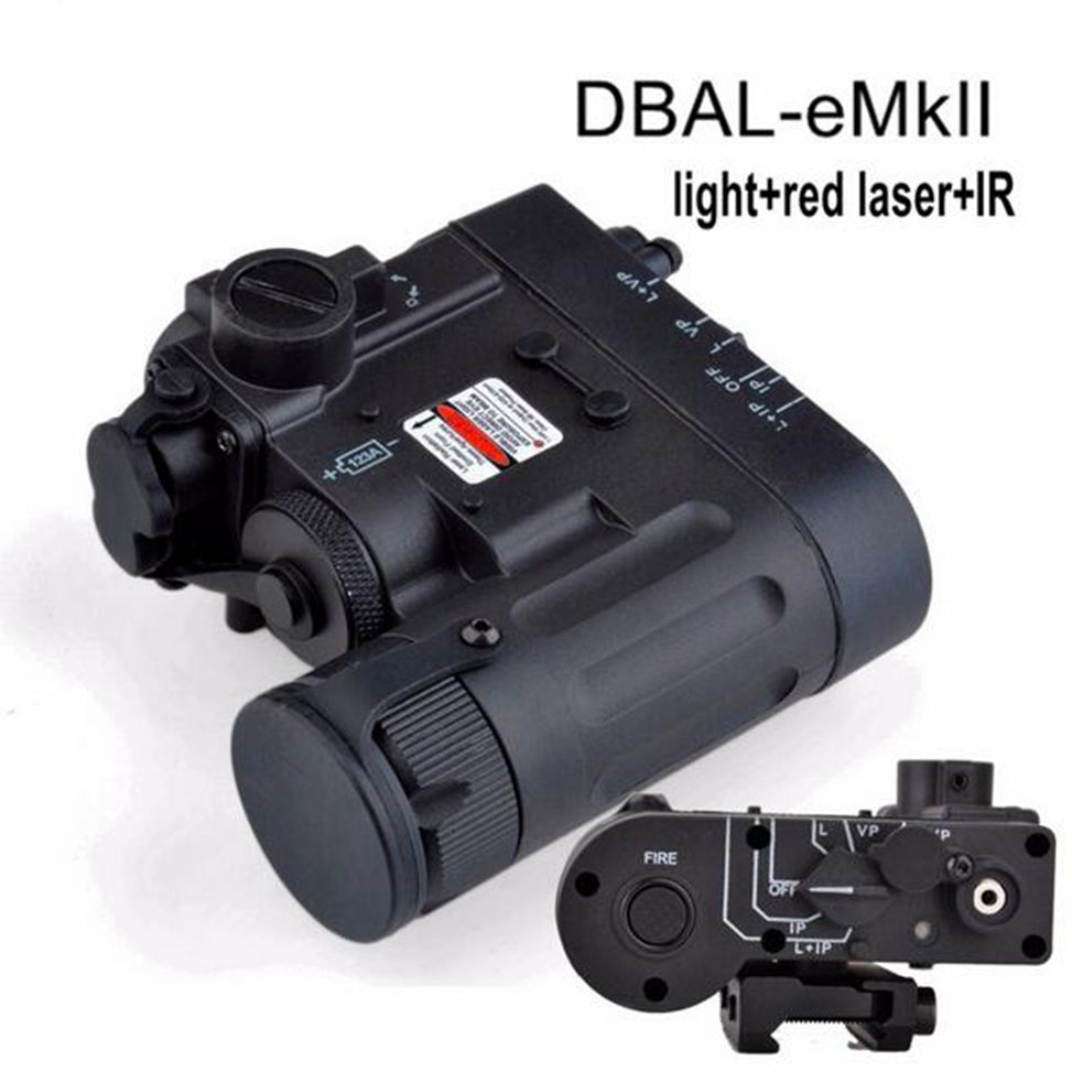 Hunting Element Tactical Flashlight DBAL-D2 IR Laser and Led Torch DBAL-EMKII Weapon Light EX328 hot sale and new arrival tactical dbal pl led ir red laser for hunting bwl 012