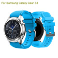 Latest Fashion Sports Rubber Silicone Bracelet Strap Watch Band For Samsung Gear S3 Frontier Watchband Replacement Watch Strap