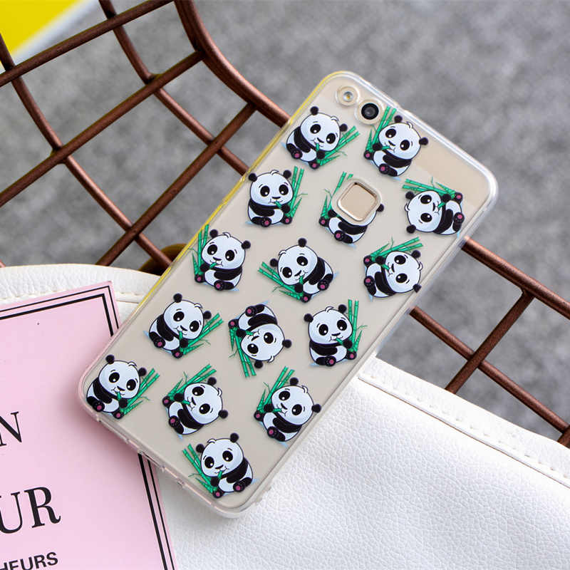 Soft TPU Case For Huawei Mate 10 P10 P9 P8 Lite 2017 Transparent Slim Pattern Cover For Huawei Honor 7X 6X 7 8 Cases Coque