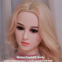 NEW Realistic Silicone Sex Doll Heads with Oral Sexy TPE Love Dolls Head For 140cm-172cm Real Adult Japanese Sexual Mannequins