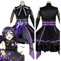 Love Live Lovelive Nozomi Tojo Cosplay Costume Initial D School Idol Stage Dress Cosplay Costume Halloween Carnival Party