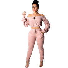 spring new womens sweater jumpsuit two-piece fashion casual pull frame eye-catching suit