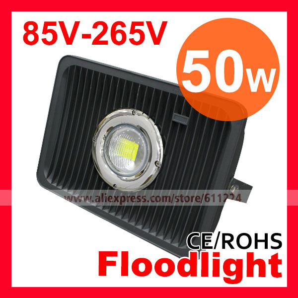 Free Shipping High Power LED Flood Lights 50W,70W LED Floodlight  AC85V-265V Outdoor Light 2 Years Warranty CE&RoHS