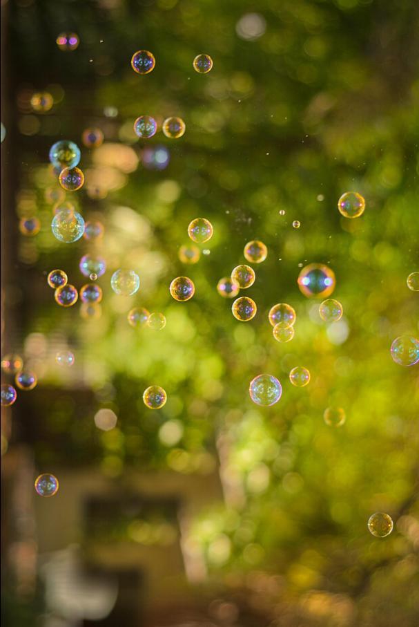 Arrière-plans de photographie bulle couleurs psychédéliques - 2