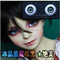 Crystal Blue Dark Brown Mixed Acrylic Eyes 14mm,16mm,18mm For  BJD Doll 1/3 1/4 1/6 SD YOSD MSD Luts DOD AS DZ GC9