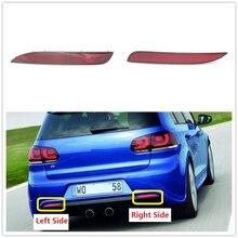 For VW Golf 6 MK6 R20 2009 2010 2011 2012 2013 Car Rear Tail Bumper Corner