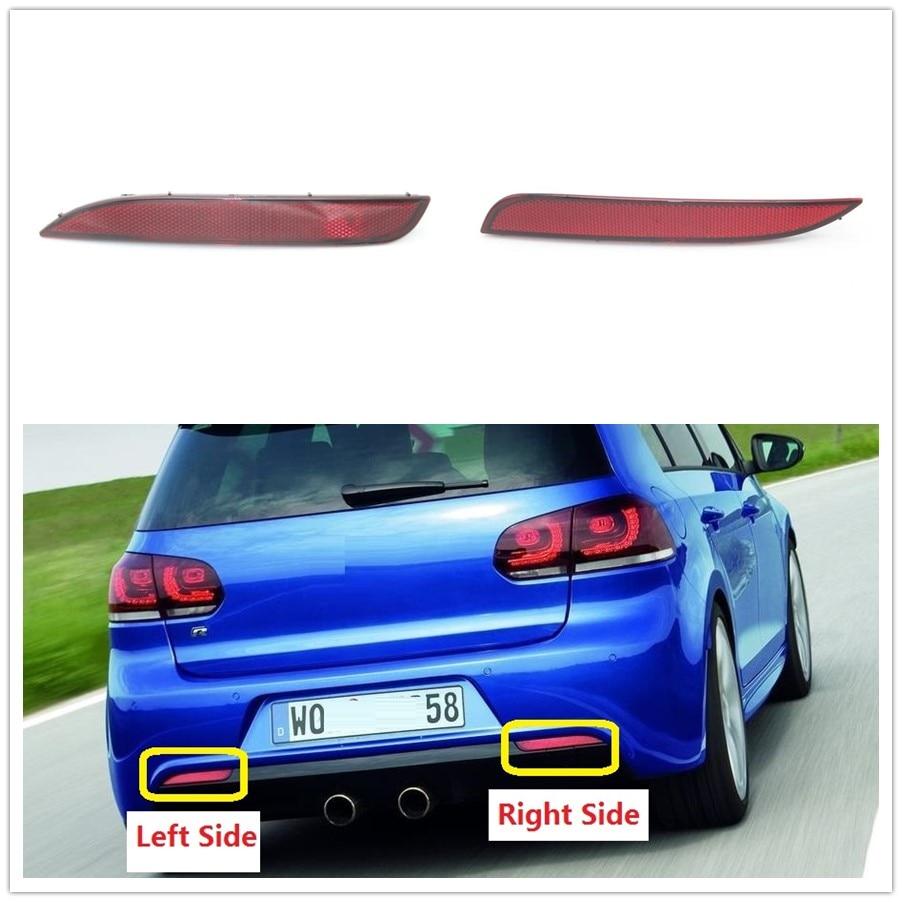 Para VW Golf 6 MK6 R20 2009, 2010, 2011, 2012, 2013 trasera parachoques Reflector de esquina decorativo luz falsa lámpara