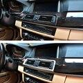 Для BMW 5 Series LHD RHD F10 F11 2010-2016 углеродное волокно центральная консоль Кондиционер Выход вентиляционная рамка отделка автомобильные аксессуары