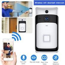 SDETER Wireelss IP Wifi Doorbell Video Intercom Video Door Bell WIFI Camera Nigh