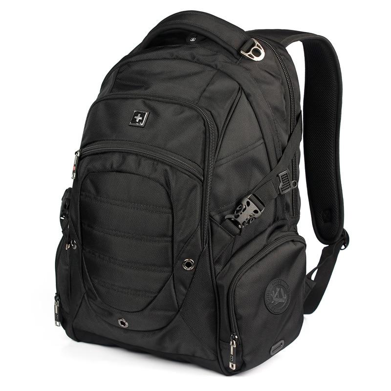 17 inch waterproof men male business Laptop Backpack mochila big capacity Travel Backpacks Computer bag colleage