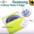 Para samsung galaxy note 4 edge cargador inalámbrico de alta calidad Kit de Carga Inalámbrica Qi Pad Cargador Inalámbrico Receptor Para N4 borde