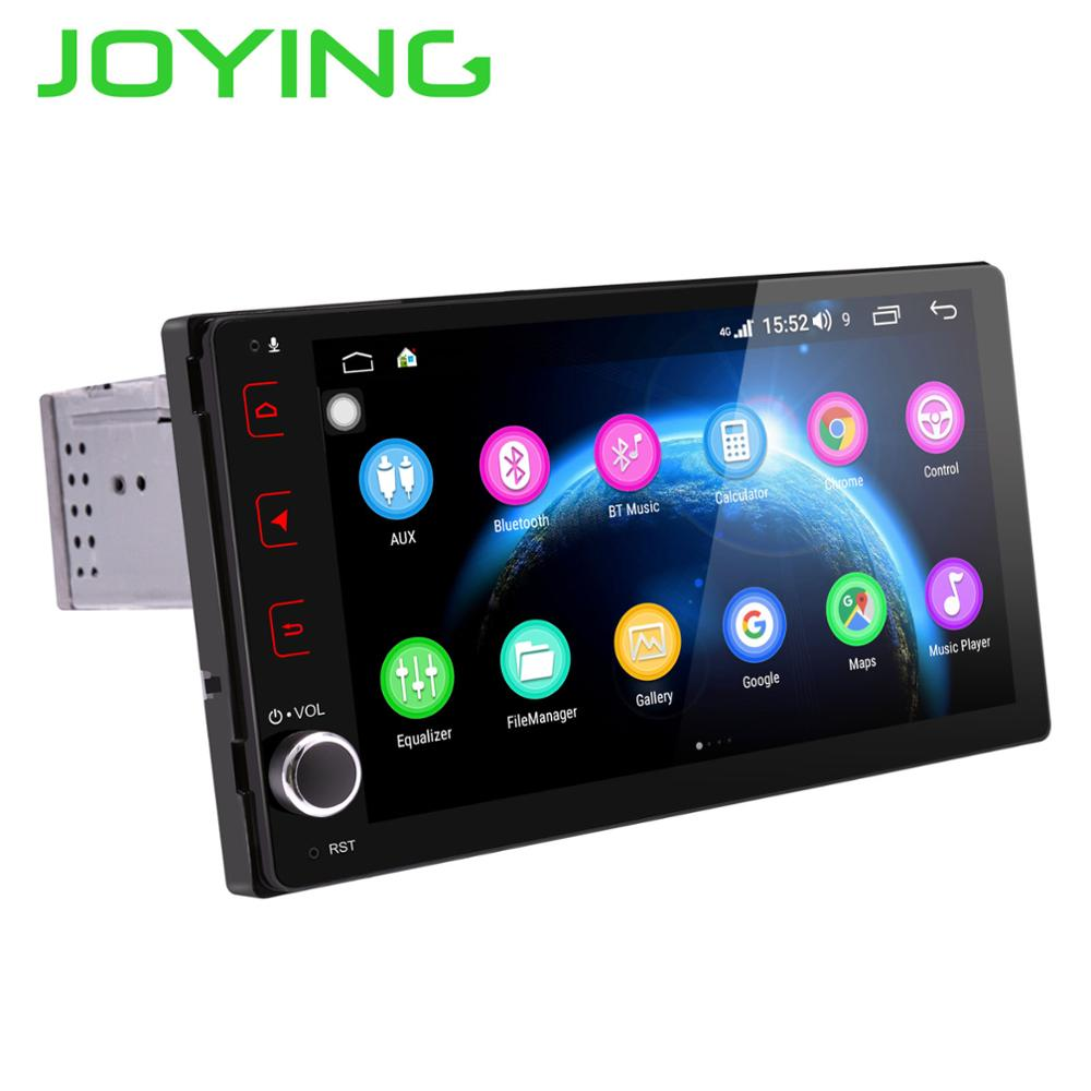 JOYING Android 8.1 car radio 4GB+64GB Octa Core multimedia player for Toyota Corolla/Fortuner/Tacoma 2017-2018 stereo head unit image