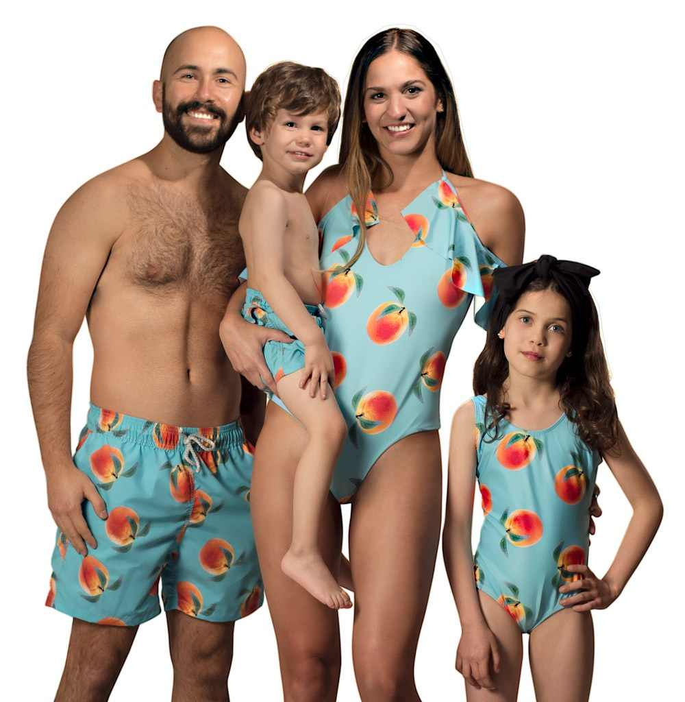 e5a8334e8b Detail Feedback Questions about Family Look Mother Daughter Swimsuit Father  Son Swimwear Shorts Mommy Dad and Me Clothes Matching Outfits Mom Baby  Beach ...