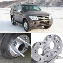 Teeze 4pcs 6X139.7 67.1CB 30mm Thick Hubcenteric Wheel Spacer Adapters For Mitsubishi Pajero 2006+