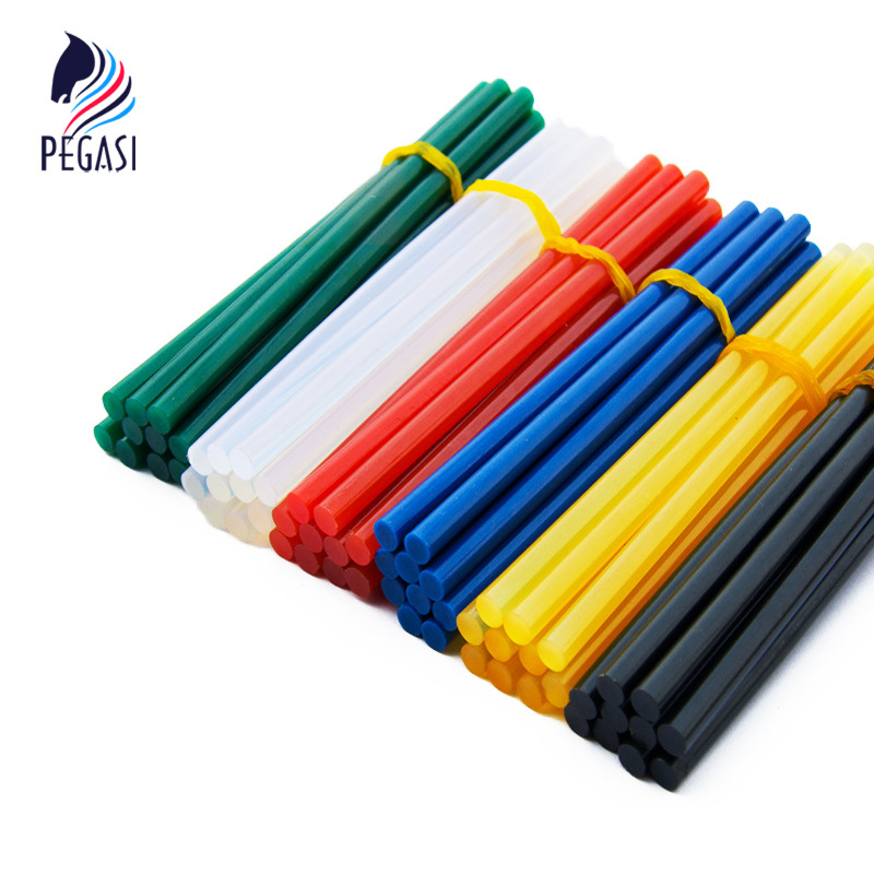 PEGASI 10pcs lot 7mm 150mm Hot Melt Glue Sticks For Glue Gun Craft Phone Case Album