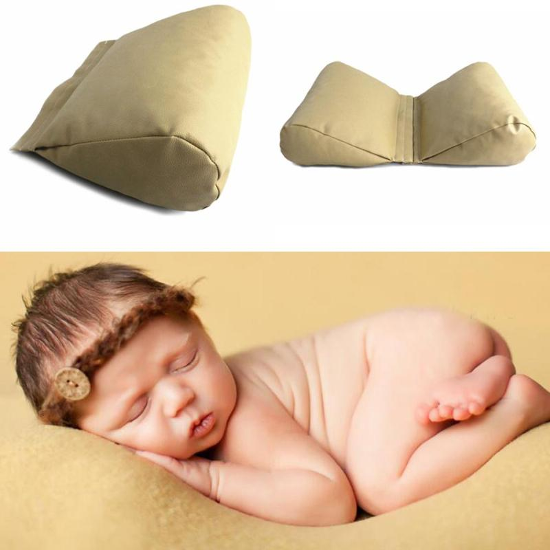 все цены на Wedge Shaped Posing Pillow Newborn Baby Photography Props Accessories Butterfly Infnat Cushion Positioner