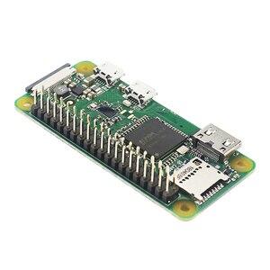 Image 1 - Raspberry Pi Zero W / WH предварительно сварочная пайка, 40 контактный GPIO Header, 512 М ОЗУ, встроенный Wi Fi и Bluetooth Raspberry Pi Zero Pi 0