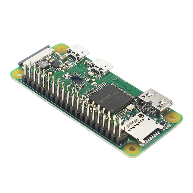 Raspberry Pi Zero W / WH предварительно сварочная пайка, 40 контактный GPIO Header, 512 М ОЗУ, встроенный Wi Fi и Bluetooth Raspberry Pi Zero Pi 0