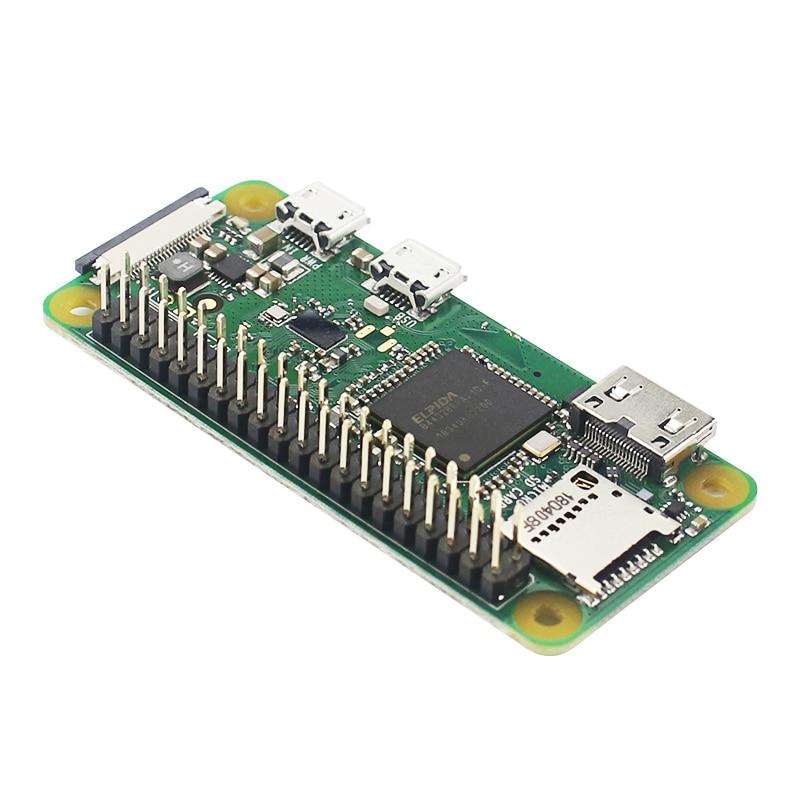 Raspberry Pi Zero W / WH Pre Welding Soldering 40pin GPIO Header 512M RAM Built-in WiFi & Bluetooth Raspberry Pi Zero Pi 0(China)