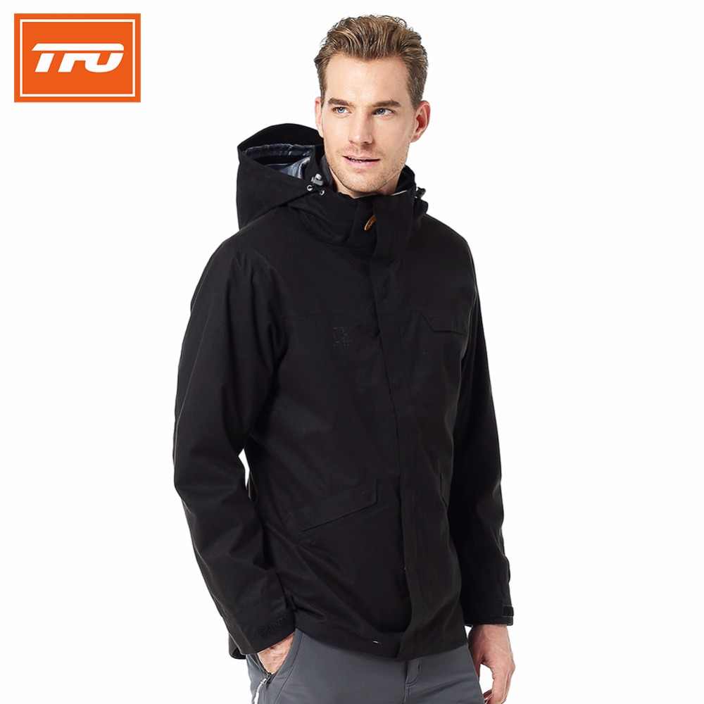 Waterproof Rain Jacket Men