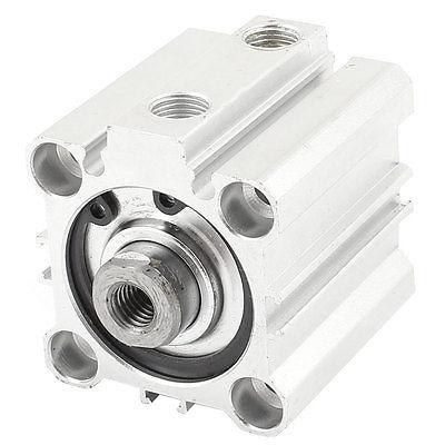 KCQ2B32-25 32mm Stroke 25mm Bore Aluminium Pneumatic Compact Air Cylinder  Free Shipping