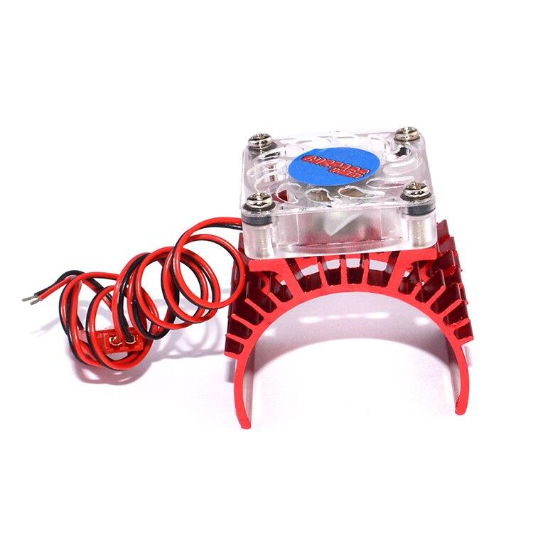 1 StÜcke Brushless Pinsel Motor Lüfter + Kühlkörper Kit 1.5a 3 V Motor Kühler/esc Kühler Für 1:10 Rc Hsp/hpi/tamiya/traxxas Autos Exquisite Traditionelle Stickkunst