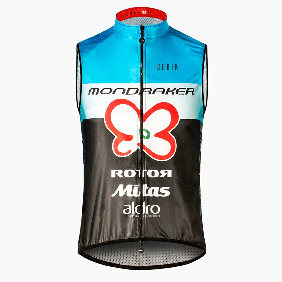 2018 gobik custom unisex windproof sleeveless vest cycling jacket breathable sport wear clothing jersey bike store team MAILLOT