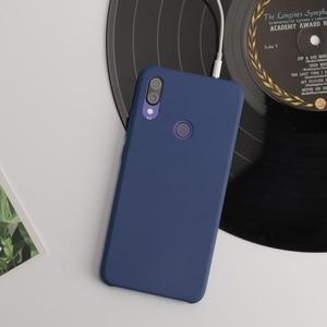 Image 3 - Original Xiaomi Redmi Note 7 Case PC Cover Bag Fashion Back Shell Ultra Thin Back Cases Fundas Coque Capa for Xiaomi Note7