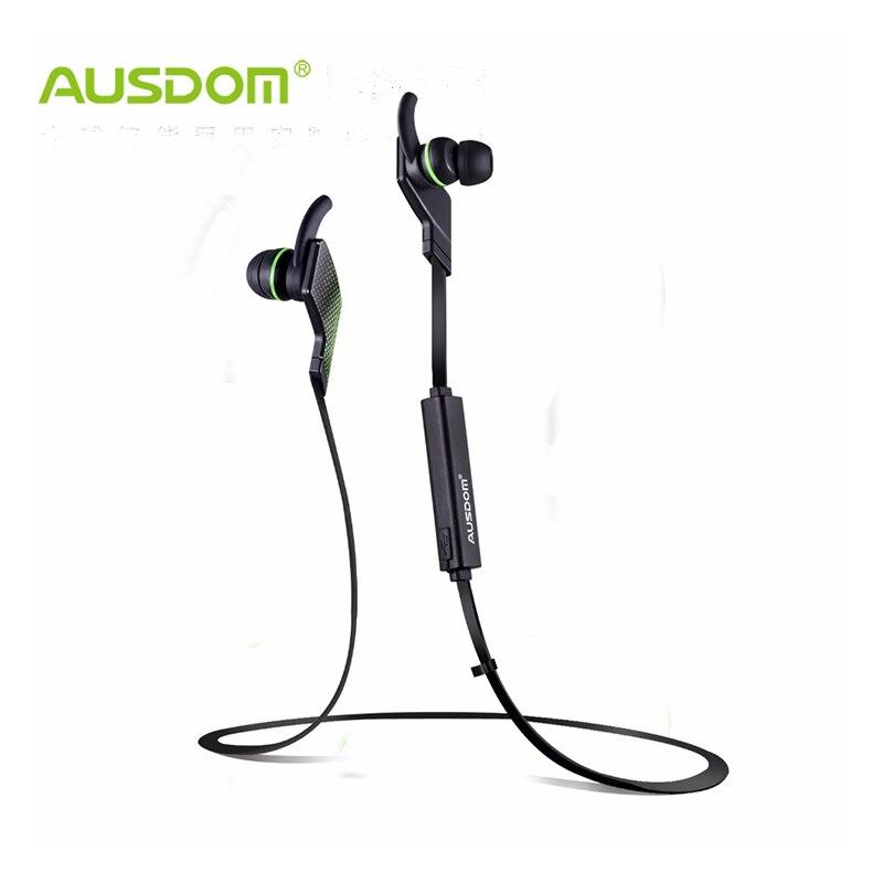 bilder für AUSDOM Jogto Drahtlose Bluetooth Noise Cancellation deep Bass In-ohr Sport Musical Headset mit mikrofon für iPhone Xiaomi