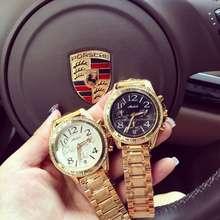 Hot Sale Luxury Brand Stainless Steel Quartz Watch Women Ladies Fashion Crystal Dress Female Rose Gold 6 Pin Wristwatch OP001
