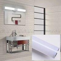 bathroom wall lamp led Lens light Silver grey Warm White White light 220V waterproof Acrylic make up light