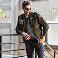 2017 новый мужская куртка весна куртка бомбардировщик Марка куртка самосовершенствование Армии полета досуг мужская высокое качество пальто Пальто
