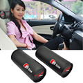 2 x Black Microfiber Leather Car Headrest Neck Pillow Auto Cushion Safety Supplies For Audi A3 A4 A5 A6 A7 A8 R8 Q5 TT S line