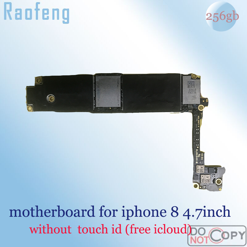 Raofeng iPhone Touch 256GB for 8/4.7inch/Mainboard/.. with Chips Logic-Board Ios Id-Suit