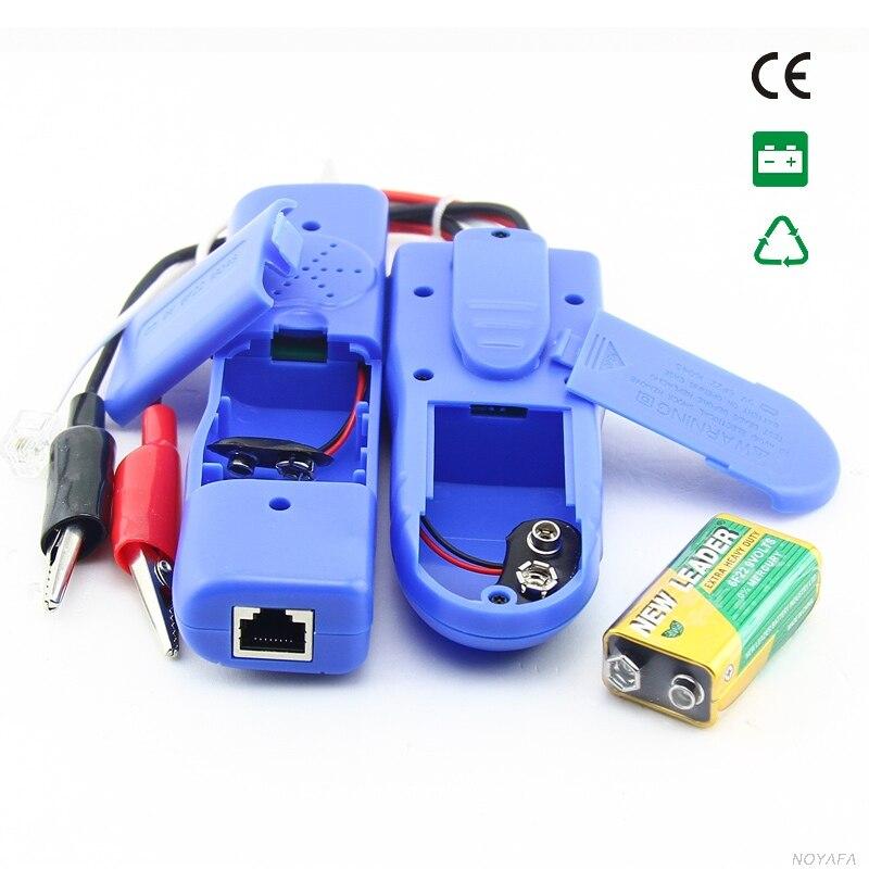 Original Noyafa NF-806 téléphone fil Tracker diagnostiquer tonalité trousse à outils LAN réseau câble testeur Cat5 Cat6 RJ45 UTP STP détecteur de ligne - 4
