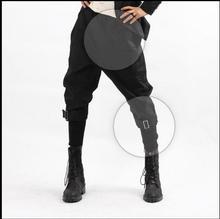 HOT 2017 new fashion nightclub Harem pants men plus size capris skinny pants culottes boot cut trousers hairstylist costumes