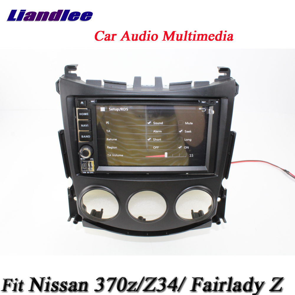 Liandlee Car System For Nissan 370z Fairlady Z Z34 Radio Video Stereo Wiring Dvd Player Gps Nav Map Navigation 1080p Hd Screen Multimedia In
