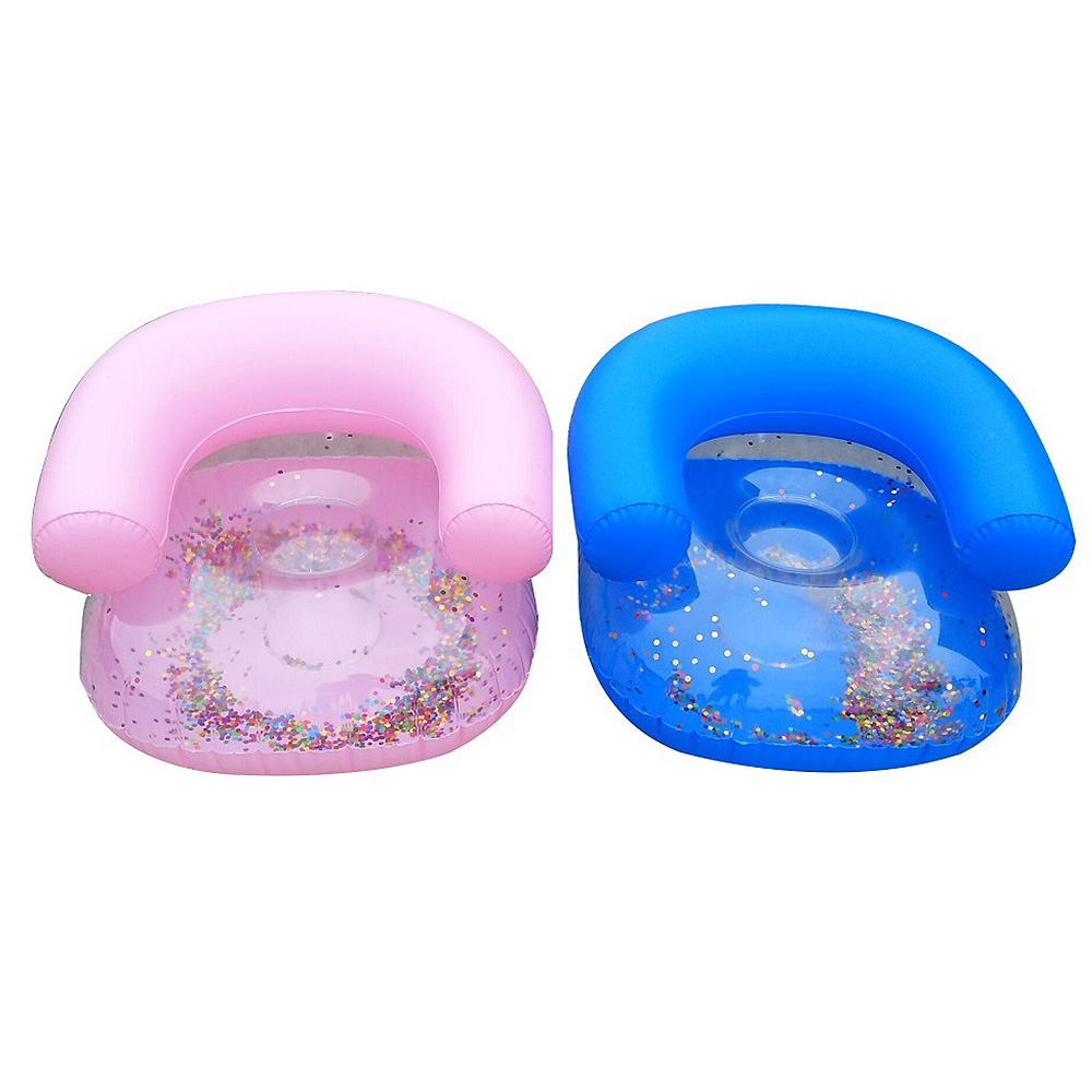 Hot Inflatable Sofa Stool Thickened Bathroom Sofa Chair For Baby Kid Children