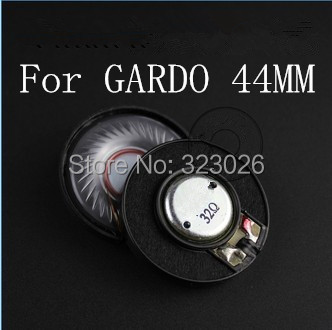 44mm speaker unit adapted for 50mm shell casing 2pcs