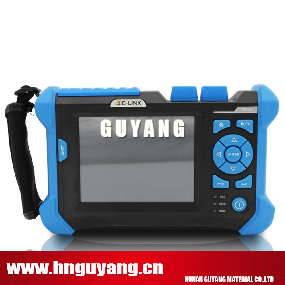 Original G link TR600 SV20A SM OTDR with VFL 32 30dB 5ns 20us 180km Fiber Optical OTDR Tester 1330 1550nm SM OTDR in Fiber Optic Equipments from Cellphones Telecommunications