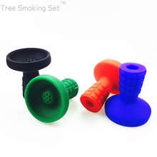 Silica Middle Shisha Silicone Bowl Smoke Pot Container Tobacco Large Diameter Can Zoom In kaloud Small