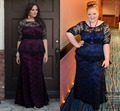 Navy Blue Lace Mermaid Mother of the Bride Dresses for Plus Size Sheer Peplum Half Sleeves Wedding Party Gowns Maxi Women Dress