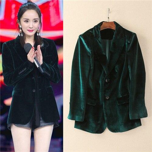 Green Jacket Womens