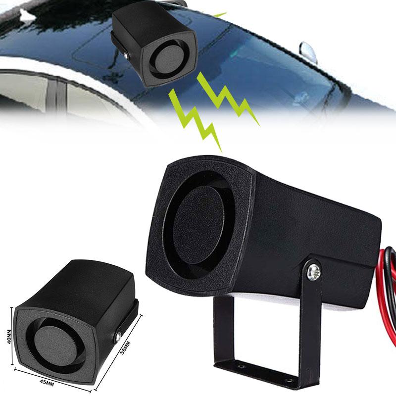 Vehemo 105db Auto Horn Fire Siren Car Horn Universal Air Horn Siren  Security Alarm Police