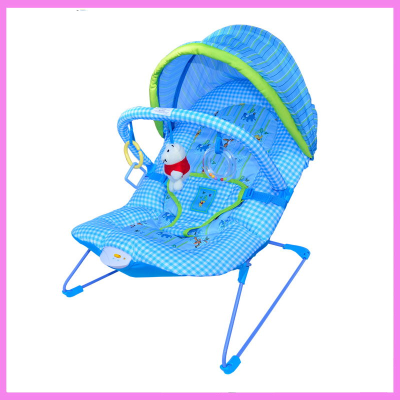 Wholesale Baby Vibrating Soothing Rocking Chair Carter Multifunctional Rocking Chair Baby Electric Deck Chair Baby Rocking Chair the silver chair