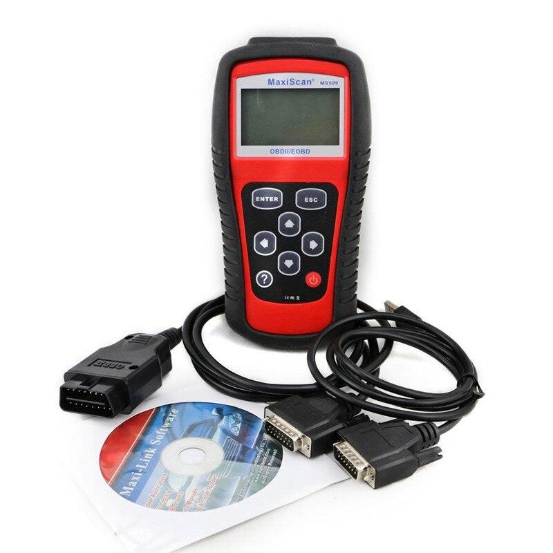 New Brand Autel MaxiScan Car Code Reader Autel MS509 OBDII OBD auto OBD2 Scanner Maxiscan MS