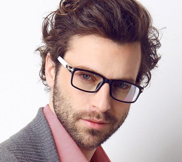 956aeec14e1 Red Black Men Male Eyeglasses Eyewear Fashion Glasses Clear New Style  Gentlemen Optical-in Eyewear Frames from Apparel Accessories on  Aliexpress.com ...
